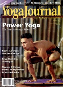 1995 Yoga Journal story about Paul Stanford and Tree Free Eco Paper